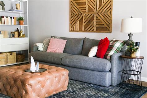 Our Big Comfy Couch A Crate & Barrel Lounge Ii Sofa Review