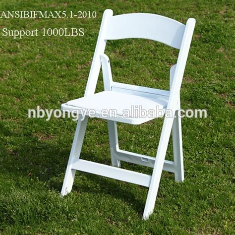 white resin folding chairs for wedding reception buy