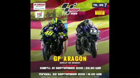 moto gp aragon spanyol  hari  youtube