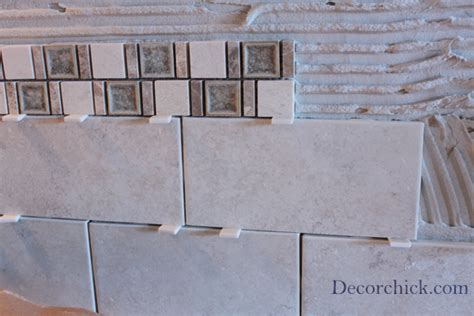 Home Depot Tile Spacers by Kitchen Backsplash Progress Decorchick
