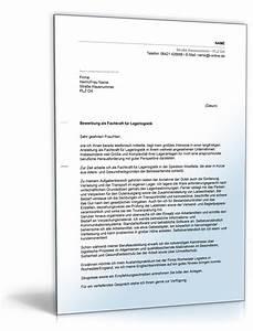 Fachkraft Für Lagerlogistik Bewerbung : anschreiben bewerbung fachkraft f r lagerlogistik ~ Eleganceandgraceweddings.com Haus und Dekorationen