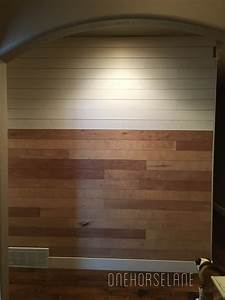 DIY Shiplap Wall…Easy, Cheap, and Beautiful Part 1 One