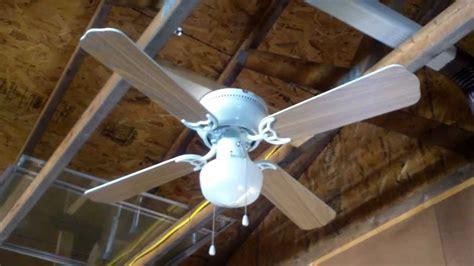 hampton bay littleton ceiling fan youtube