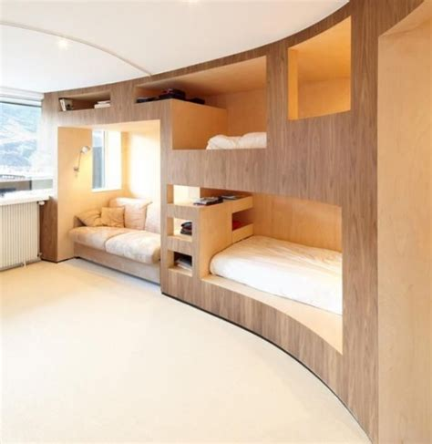 cool beds for small rooms 26 cool and functional built in bunk beds for kids digsdigs