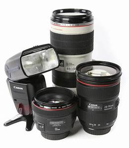 wedding essentials package no body canon With lenses for wedding videography