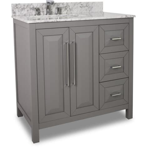 grey modern bathroom vanity van    white