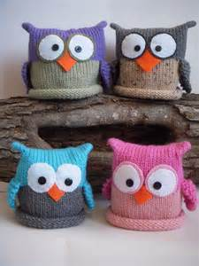 Knit Owl Hat Pattern