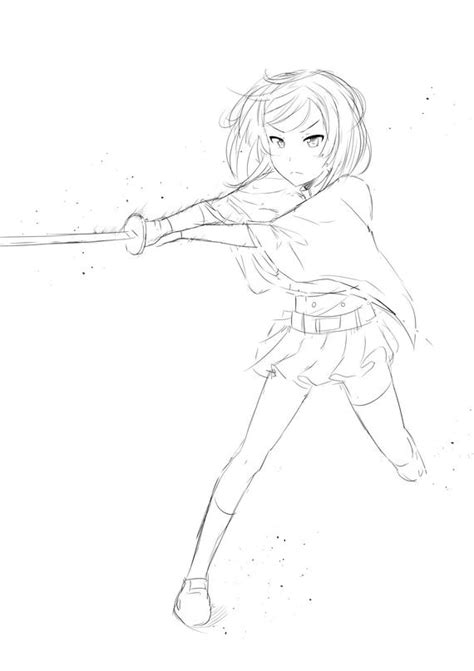 rough lineartsketch anime commissions kawaii manga cute