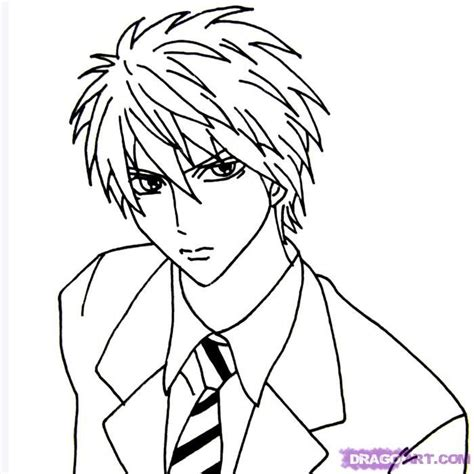 How To Draw Bishonen by koreacow Cartoon drawings Anime