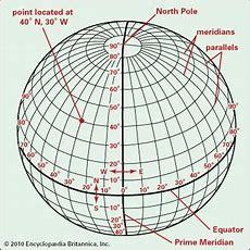 Latitude And Longitude  Geography Britannicacom
