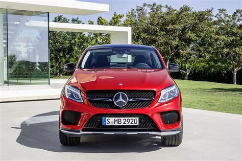 mercedes benz gle  amg coupe front photo