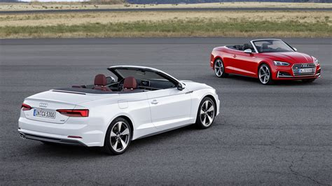 2017 Audi A5 S5 Cabriolet Debuts With Oh So Familiar Design