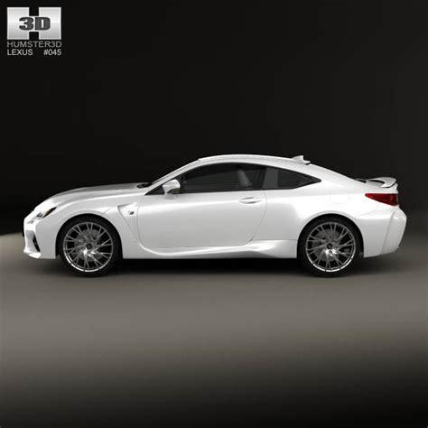 Lexus Rc F 2014 3d Model