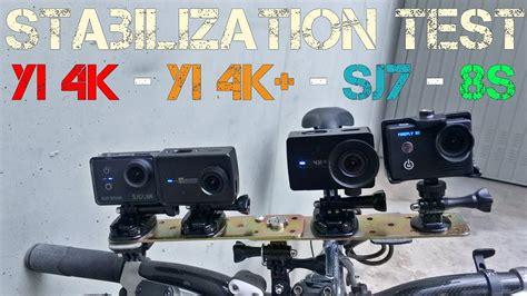 Yi 4k, Yi 4k+, Sj7, Firefly 8s Stabilization Vs