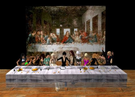 Image Result For Appropriated Art For The Last Supper Art Painting Look Alike Stencil Designs Free Paint Drops Studio Music Arts Jobs London Cafe Kino Praha Pictures Glass Vermont Rio
