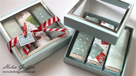 Chocolate Bar Gift Box With Window