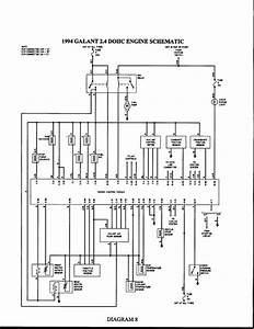 Auto Wiring Diagrams For Mitsubishi Gallant