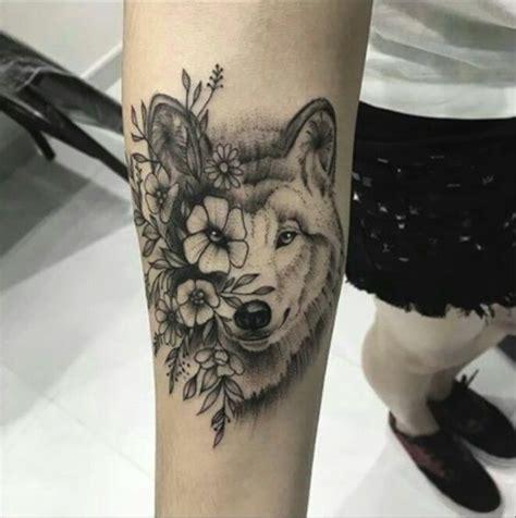 Tatouage Loup Avant Bras  Tattoos )  Pinterest Tattoo