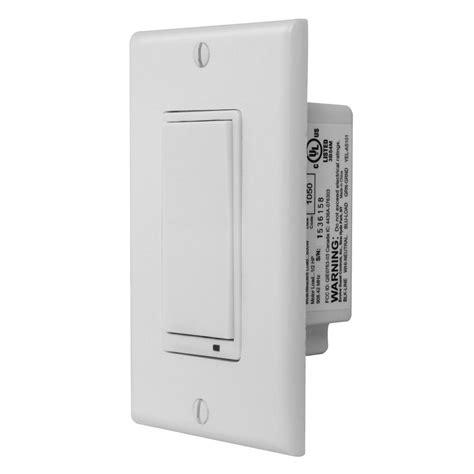 z wave l switch gocontrol z wave wall mount switch ws15z 1 the home depot