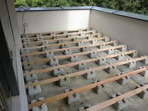 Terrasse Bauen Anleitung : unterkonstruktion fr holzterrasse bauen der fundament stein ~ Markanthonyermac.com Haus und Dekorationen