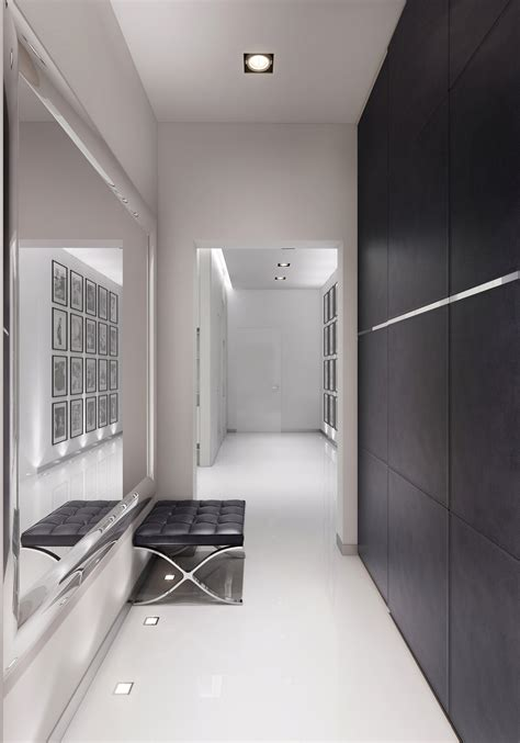 modern black floor l 30 entryway lighting ideas to use in your entryway