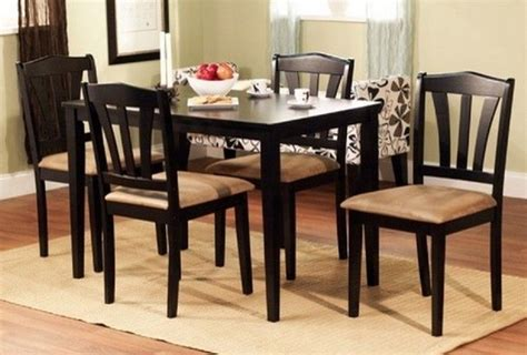 black dining room sets news dining room table and chair sets on black dining room kitchen table set with 4 chairs wood
