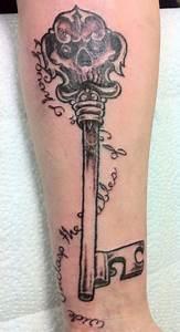 Poetic Skeleton Key   Tattoos by Moreah