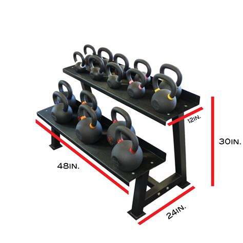 kettlebell rack equipment storage racks kettlebells training heavy duty tier crossfit