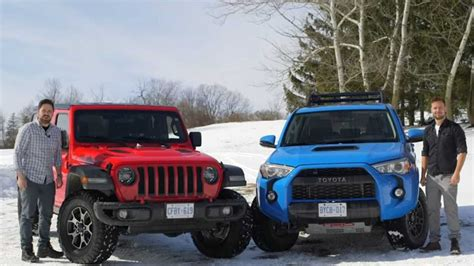 jeep wrangler rubicon  toyota runner trd pro  showdown