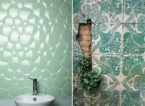 Carrelage Vert D Eau : carrelage vert eau beautiful houses ~ Melissatoandfro.com Idées de Décoration