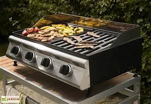 Barbecue A Poser : bbq plancha grill las palmas 4 br leurs barbecue gaz ~ Melissatoandfro.com Idées de Décoration