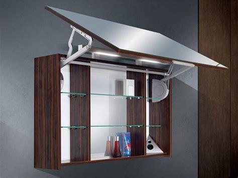 Badezimmer Spiegelschrank Scharniere by Spiegelschrank Mit Liftt 252 R 100 Cm Breit Paul Gottfried