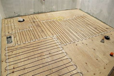 How To Install Floor Tile In Bathroom by How To Install Heated Tile Flooring And Also How Not