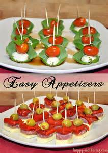 Easy Party Appetizers Skewers