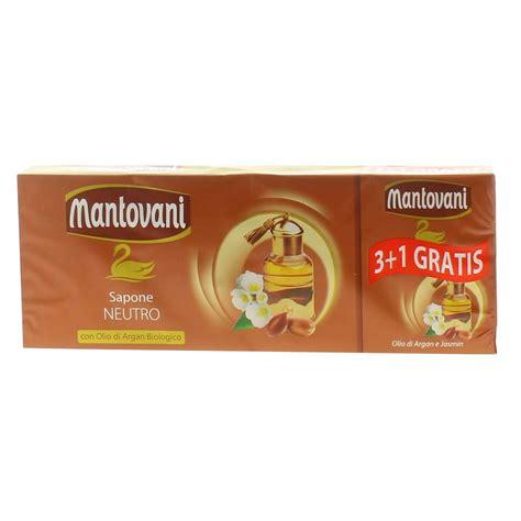 Sapone Mantovani by Mantovani Sapone Neutro Con Olio Di Argan Biologico 4 X