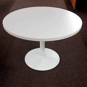 Table Basse Tulipe : table ronde pied tulipe beautiful table ronde extensible ~ Teatrodelosmanantiales.com Idées de Décoration