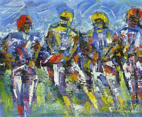 The Art Of Football 10 Works Of Art To Pump You Up For