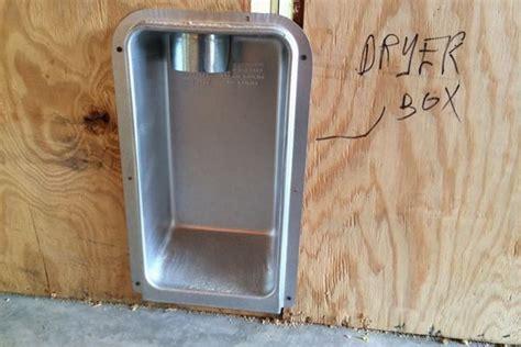 cheap trick recessed dryer box tips custom home magazine