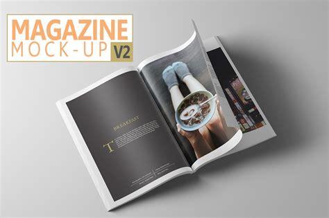 magazine mock   print mockups creative market
