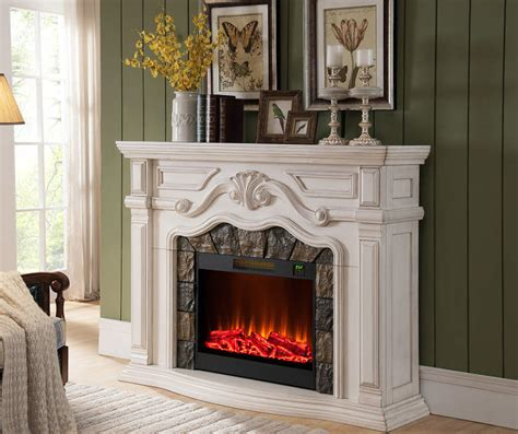 fireplaces at big lots 62 quot grand white electric fireplace at big lots backyard