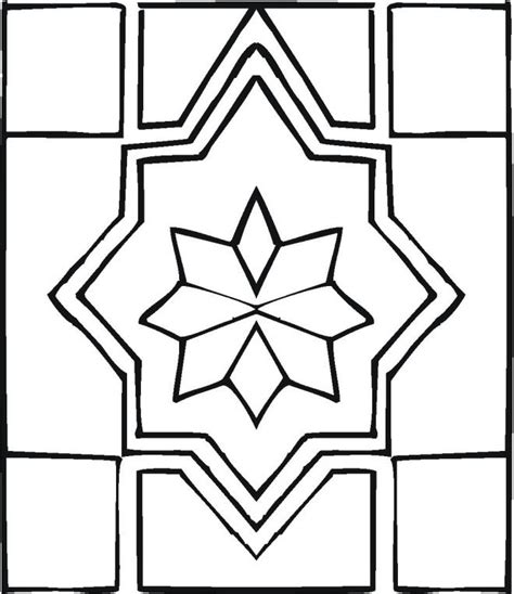 Geometric Design Coloring Pages Printable Geometric Design Coloring Pages Coloring Home
