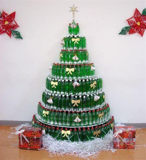 decoraci 243 n navide 241 a hecha con materiales reciclados