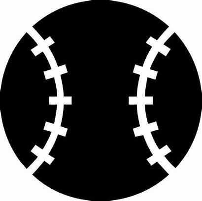Baseball Svg Ball Icon Symbol Object Sportive