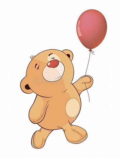 Bear Cartoon Toy Balloon Giocattolo Cucciolo Orso