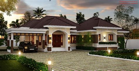 amazing bungalow  kerala  cost   construct housely