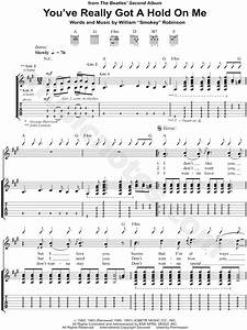 The Beatles  U0026quot You U0026 39 Ve Really Got A Hold On Me U0026quot  Guitar Tab In
