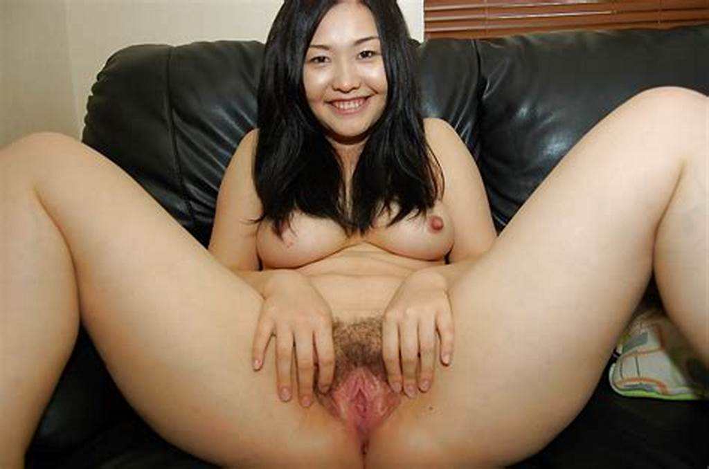 #Smiley #Asian #Teen #Exposes #Her #Hairy #Gash #And #Has #Some