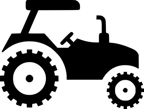 Tractor Car Vehicle Svg Png Icon Free Download (#448273