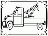 Tow Coloring Truck Pages Sheets Trucks Boys Frame Drawing Realistic Coloringpagesfortoddlers Fun Detailed Popular Clipartmag Coloringhome sketch template