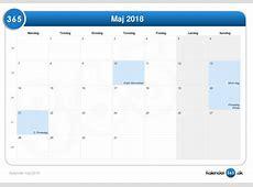 Kalender maj 2018